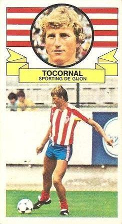 Liga 85-86. Tocornal (Real Sporting de Gijón). Ediciones Este.