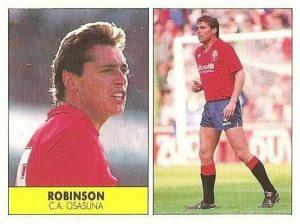 Liga 87-88. Robinson (Club Atlético Osasuna). Ediciones Festival.