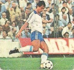 Liga 82-83. Camus (Real Zaragoza). Ediciones Este.