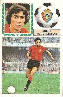 Liga 83-84. Julio (Club Atlético Osasuna). Ediciones Este