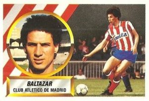 Liga 88-89. Baltazar (Atlético de Madrid). Ediciones Este.