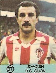 1983-84 Super Campeones. Joaquín (Real Sporting de Gijón). (Ediciones Gol).