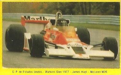Grand Prix Ford 1982. James Hunt (McLaren). (Editorial Danone).
