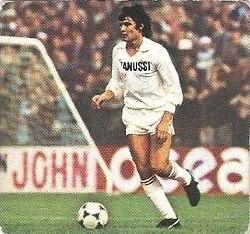 Liga 82-83. Camacho (Real Madrid). Ediciones Este.