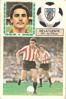 Liga 83-84. De la Fuente (Ath. Bilbao). Ediciones Este.