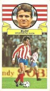 Liga 85-86. Eloy (Real Sporting de Gijón). Ediciones Este.