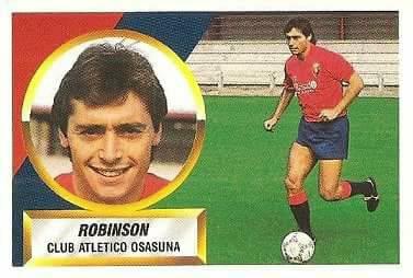 Liga 88-89. Robinson (Club Atlético Osasuna). Ediciones Este.