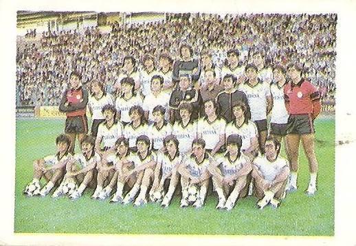 Fútbol 84. Plantilla U.D. Salamanca (U.D. Salamanca). Cromos Cano.