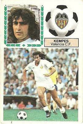 Liga 83-84. Kempes (Valencia C.F.). Ediciones Este.