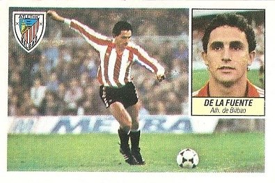 Liga 84-85. De la Fuente (Ath. Bilbao). Ediciones Este.
