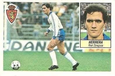 Liga 84-85. Herrera (Real Zaragoza). Ediciones Este.