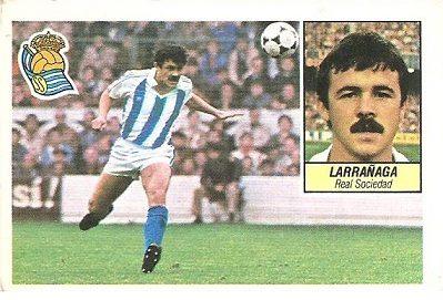 Liga 84-85. Larrañaga (Real Sociedad). Ediciones Este.