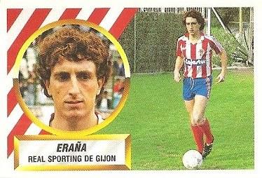 Liga 88-89. Eraña (Real Sporting de Gijón). Ediciones Este.