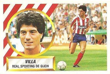 Liga 88-89. Villa (Real Sporting de Gijón). Ediciones Este.