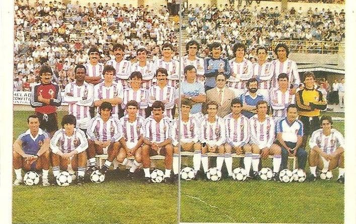 Trideporte 84. Plantilla Real Valladolid (Real Valladolid). Editorial Fher.