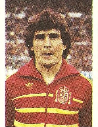 Eurocopa 1984. Camacho (España). Editorial Fans Colección.