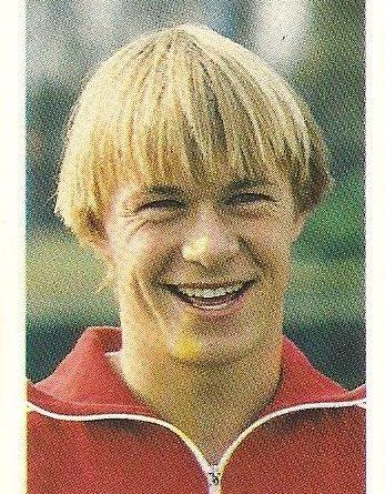Eurocopa 1984. Frimann (Dinamarca) Editorial Fans Colección.