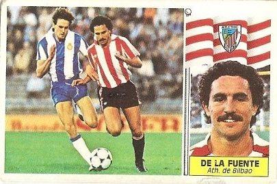 Liga 86-87. De la Fuente (Ath. Bilbao). Ediciones Este.
