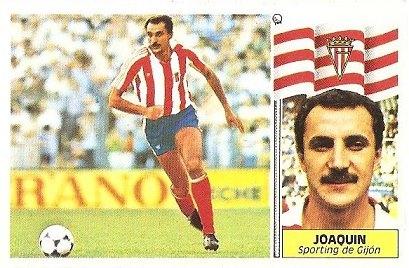 Liga 86-87. Joaquín (Real Sporting de Gijón). Ediciones Este.