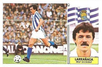 Liga 86-87. Larrañaga (Real Sociedad). Ediciones Este.
