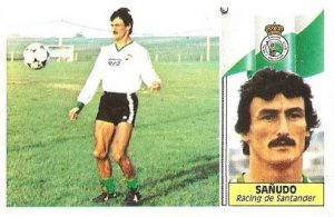 Liga 86-87. Sañudo (Racing de Santander). Ediciones Este.