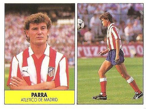 Liga 87-88. Parra (Atlético de Madrid). Ediciones Festival.