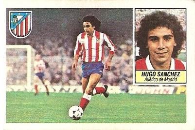 Liga 84-85. Hugo Sánchez (Atlético de Madrid). Ediciones Este.