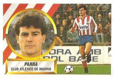 Liga 88-89. Parra (Atlético de Madrid). Ediciones Este.
