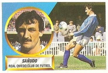 Liga 88-89. Sañudo (Real Oviedo). Ediciones Este.