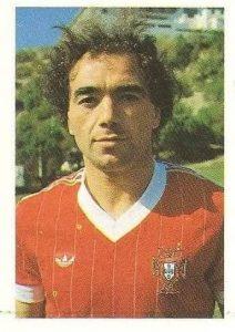 Eurocopa 1984. Pacheco (Portugal) Editorial Fans Colección.