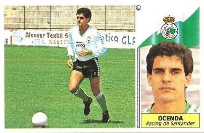 Liga 86-87. Ocenda (Racing de Santander). Ediciones Este.