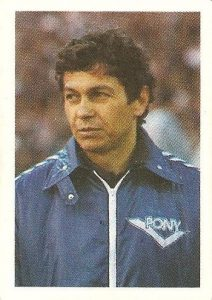 Eurocopa 1984. Mircea Lucescu (Rumanía) Editorial Fans Colección.