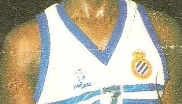 Liga Baloncesto 1985-1986. Vernon Smith (R.C.D. Español Juver). Chicle Gumtar.