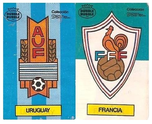 Mundial 1986. Uruguay o Francia. Ediciones Dubble Dubble.