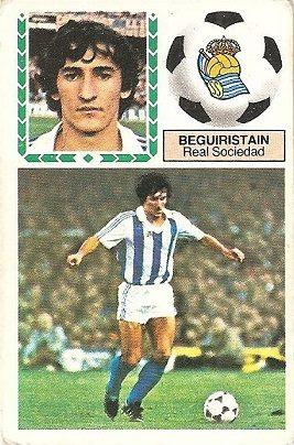 Liga 83-84. Beguiristain (Real Sociedad). Ediciones Este.