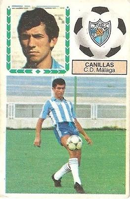 Liga 83-84. Canillas (C.D. Málaga). Ediciones Este.