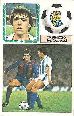 Liga 83-84. Orbegozo (Real Sociedad). Ediciones Este.
