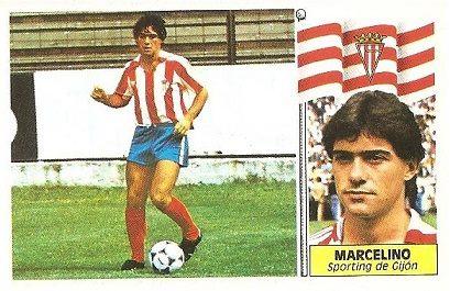 Liga 86-87. Marcelino (Sporting de Gijón). Ediciones Este.
