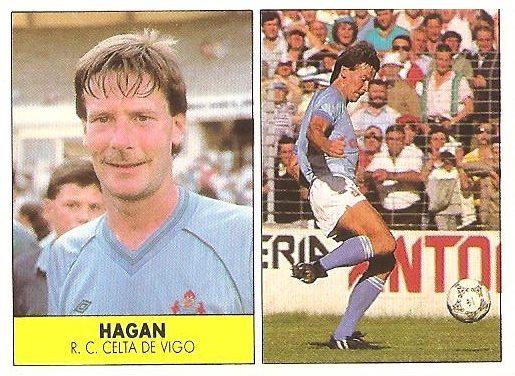 Liga 87-88. Hagan (Celta de Vigo). Ediciones Festival.