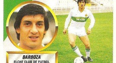 Liga 88-89. Barboza (Elche C.F.). Ediciones Este.