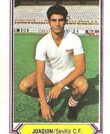 Liga 80-81. Joaquín (Sevilla F.C.). Ediciones Este.