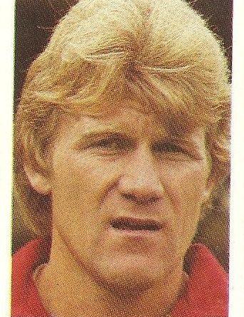 Eurocopa 1984. Morten Olsen (Dinamarca). Editorial Fans Colección.