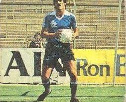Liga 82-83. Montes (Real Valladolid). Ediciones Este.