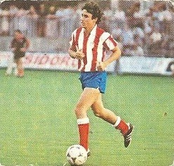 Liga 82-83. Rubio (At. Madrid). Ediciones Este.
