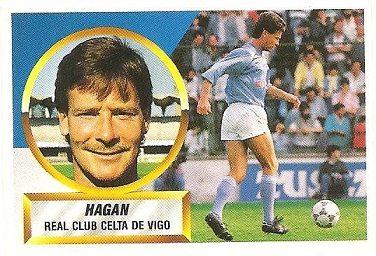 Liga 88-89. Hagan (Celta de Vigo). Ediciones Este.