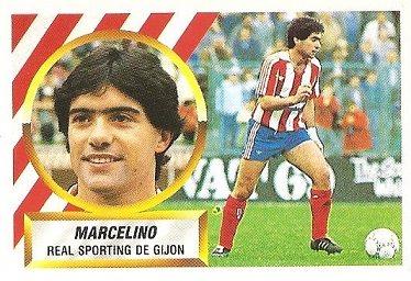 Liga 88-89. Marcelino (Sporting de Gijón). Ediciones Este.