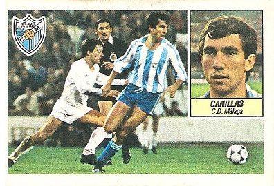 Liga 84-85. Canillas (C.D. Málaga). Ediciones Este.