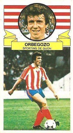 Liga 85-86. Orbegozo (Real Sporting de Gijón). Ediciones Este.