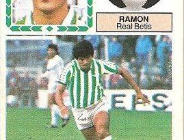 Liga 83-84. Ramón (Real Betis). Ediciones Este.