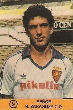 1983-84 Super Campeones. Señor (Real Zaragoza). (Ediciones Gol).